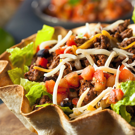 Turkey Taco Bowl