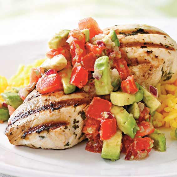 Chicken with Salsa