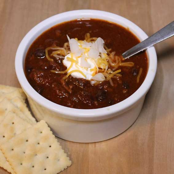 Ground Turkey and Pumpkin Chili