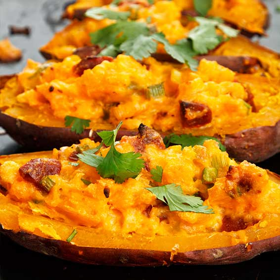 Stuffed Sweet Potatoes