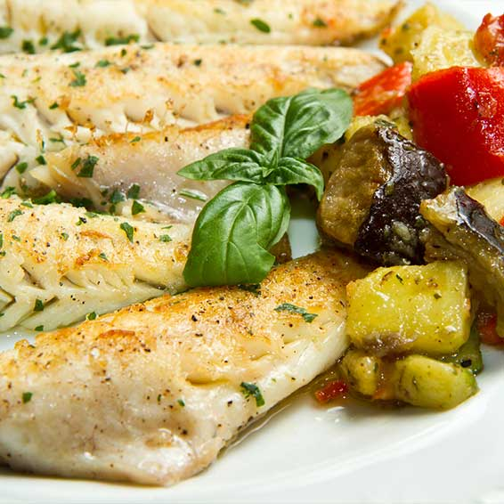 Tilapia and Winter Vegetable Packets