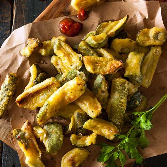 Baked Zucchini Squash Fries