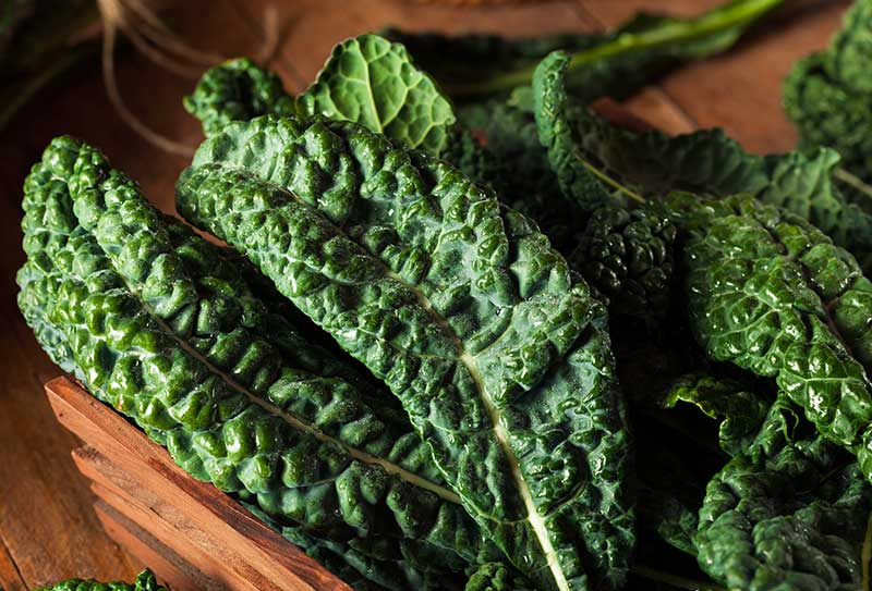 Calcium-Filled Collard Greens