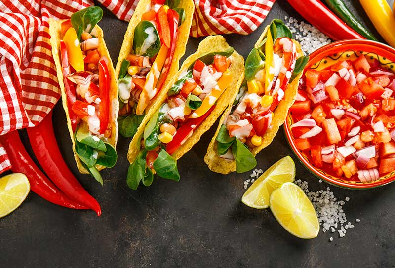 No Meat Tacos