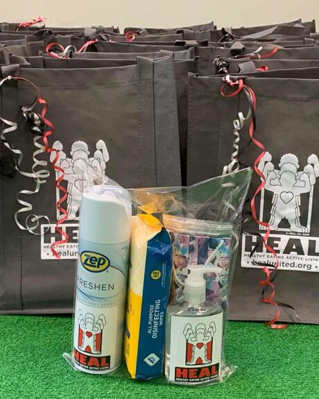 HEAL Provides Teachers with PPE