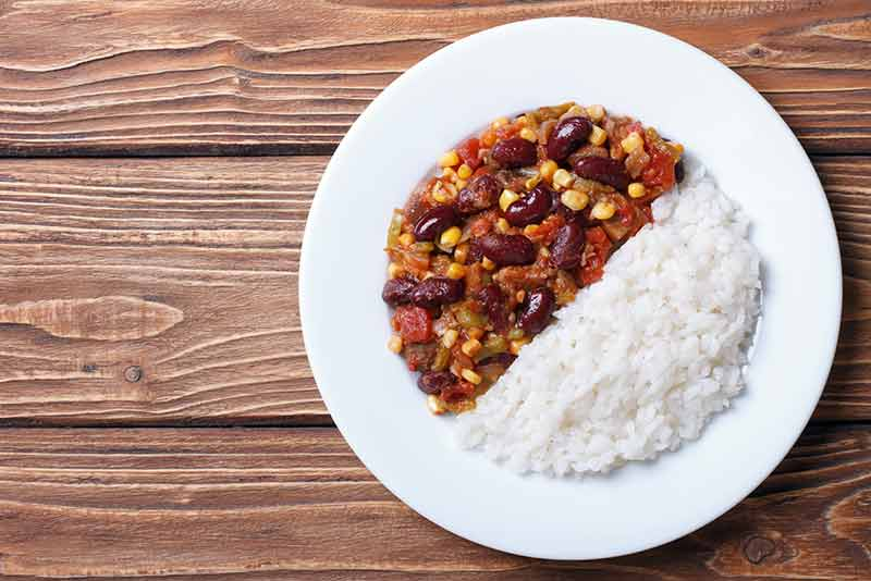 Mexican Inspired Rice and Beans Soup